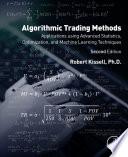 Algorithmic Trading Methods Book