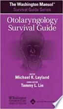 The Washington Manual Otolaryngology Survival Guide Book PDF