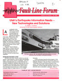 Fault Line Forum