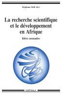 Pdf La recherche scientifique et le développement en Afrique - Idées nomades Telecharger