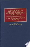 """""""Contemporary African American Novelists: A Bio-bibliographical Critical Sourcebook"""" by Emmanuel Sampath Nelson"""
