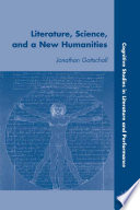 Literature  Science  and a New Humanities