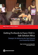 Getting Textbooks to Every Child in Sub-Saharan Africa