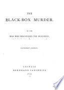 The Black-box Murder