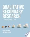 Qualitative Secondary Research Book