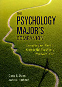 The Psychology Major s Companion