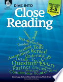 Dive into Close Reading  Strategies for Your 3 5 Classroom Book