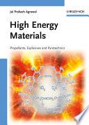 High Energy Materials