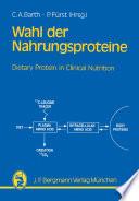 Wahl der Nahrungsproteine   Grundlagen und Di  tetik