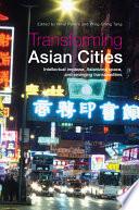 Transforming Asian Cities