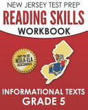 New Jersey Test Prep Reading Skills Workbook Informational Texts Grade 5