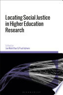 Locating Social Justice In Higher Education Research