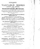 Book and Library Sales Catalogues