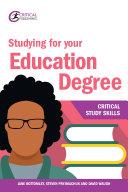 Studying for your Education Degree [Pdf/ePub] eBook