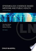 Lecture Notes  Epidemiology  Evidence based Medicine and Public Health