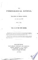 The Phrenological Journal  and Magazine of Moral Science