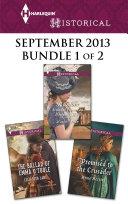 Harlequin Historical September 2013 - Bundle 1 of 2