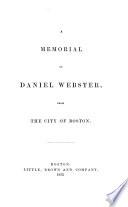 A Memorial Of Daniel Webster