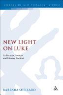New Light on Luke Pdf/ePub eBook