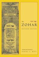 The Zohar  volume 1