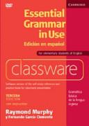 Essential Grammar in Use Classware DVD-ROM Spanish Edition