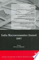 India Macroeconomics Annual 2007