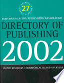 Directory of Publishing 2002