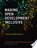 Making Open Development Inclusive Book PDF