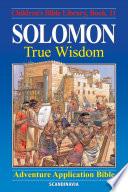 Solomon   True Wisdom