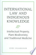International Law And Indigenous Knowledge Book PDF
