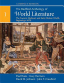 The Bedford Anthology Of World Literature Compact Edition Volume 1