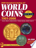 2008 Standard Catalog of World Coins 1901-2000