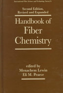 Handbook of Fiber Chemistry  Second Edition  Revised and Expanded
