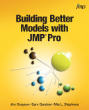 Pdf Building Better Models with JMP Pro Telecharger