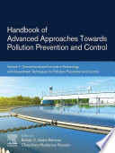 Handbook of Advanced Approaches Towards Pollution Prevention and Control Book