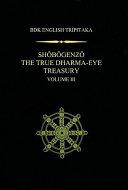 Shobogenzo The True Dharma Eye Treasury III