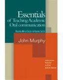 Essentials Of Teaching Academic Oral Communication Book PDF