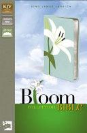 KJV Thinline Bloom Collection Bible