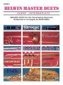 Belwin Master Duets  Flute   Intermediate Volume 2