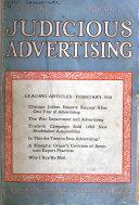 Judicious Advertising