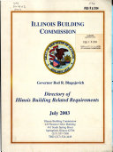 Directory Of Illinois Building Commission Related Requirements