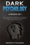 Dark Psychology 6 Books In 1