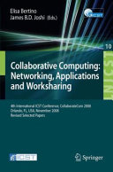 Collaborative Computing  Networking  Applications and Worksharing