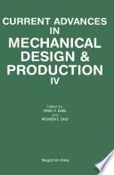 Current Advances in Mechanical Design   Production IV