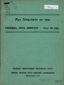 Pay structure of the federal civil service