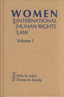 Women and International Human Rights Law  Introduction to women s human rights issues