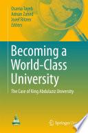 Becoming a World-Class University