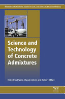 Science and Technology of Concrete Admixtures