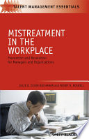 Mistreatment in the Workplace
