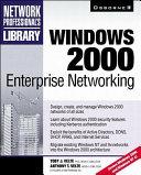 Windows 2000 Enterprise Networking